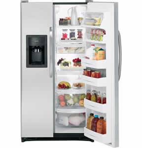 GE GSL25IGXLS Side-By-Side Refrigerator