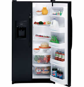 GE GSS25JETBB Side-By-Side Refrigerator