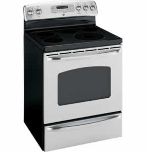 GE JBP84SMSS Free-Standing Electric Convection Range