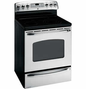 GE JBP89SMSS Free-Standing Electric Double Oven