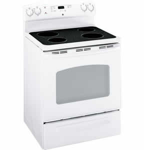 GE JBS55DMWW Free-Standing Electric Range