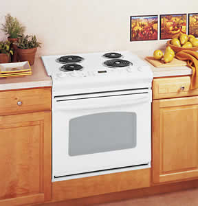 GE JDS28DNWW Drop-In Electric Range