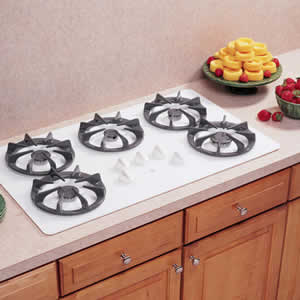 GE JGP637WEJWW Built-In Gas Cooktop