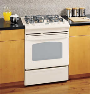 GE JGSP28DENCC Slide-In Gas Range