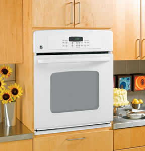 GE JKP30WMWW Built-In Single Wall Oven