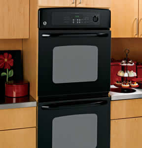 GE JKP35BMBB Built-In Double Wall Oven