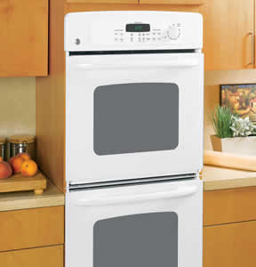 GE JKP35WMWW Built-In Double Wall Oven
