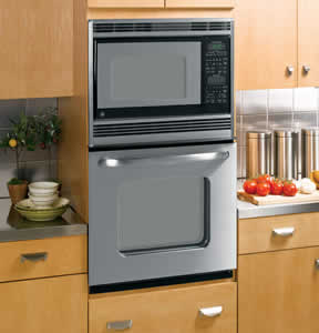 GE JKP90SMSS Built-In Double Microwave/Thermal Wall Oven