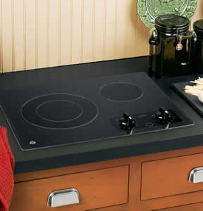 GE JP256BMBB Electric Radiant Cooktop