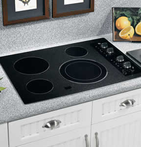 GE JP356BMBB Built-In CleanDesign Electric Cooktop