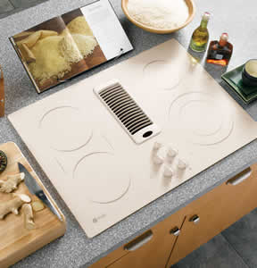 GE JP989KKCC Profile Downdraft Electric Cooktop