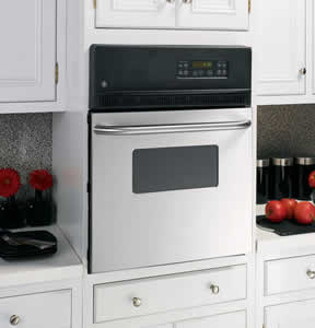 GE JRP20SKSS Electric Single Self-Cleaning Wall Oven