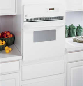 GE JRP20WJWW Electric Single Self-Cleaning Wall Oven