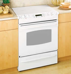 GE JS905TKWW Profile Slide-In Electric Range