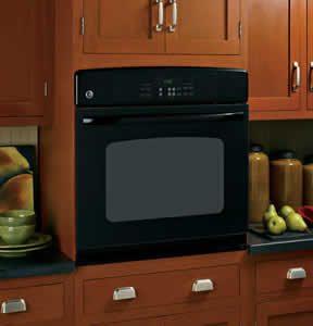 GE JTP30BMBB Built-In Single Wall Oven