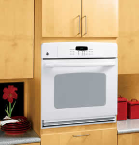 GE JTP30WMWW Built-In Single Wall Oven