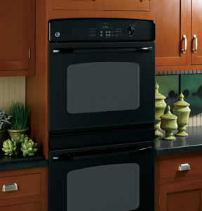 GE JTP35BMBB Built-In Double Wall Oven