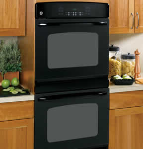 GE JTP55BMBB Built-In Double Wall Oven