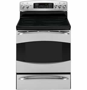 GE PB969SPSS Profile Free-Standing Double Oven Range