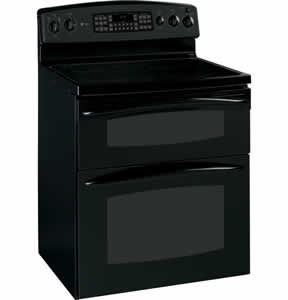 GE PB975BMBB Profile Free-Standing Double Oven Range