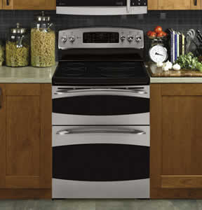 GE PB975SPSS Profile Free-Standing Double Oven Range