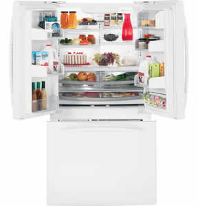 GE PFCF1NJXWW Profile French Door Refrigerator