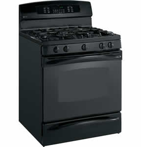GE PGB916DEMBB Profile Free-Standing Self Clean Convection Gas Range