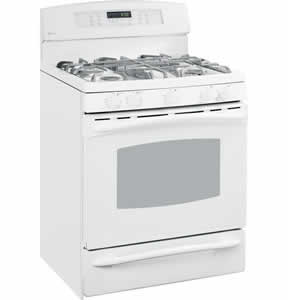 GE PGB916DEMWW Profile Free-Standing Self Clean Convection Gas Range