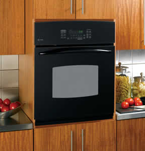 GE PK916BMBB Profile Built-In Single Convection Wall Oven