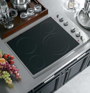 GE PP912SMSS Profile Built-In CleanDesign Electric Cooktop