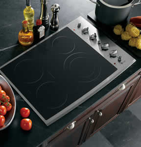GE PP932SMSS Profile Built-In CleanDesign Electric Cooktop