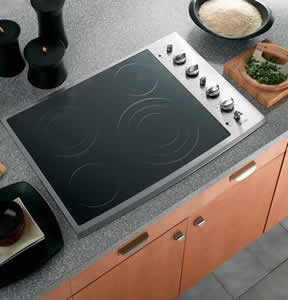 GE PP942SMSS Profile Built-In CleanDesign Electric Cooktop