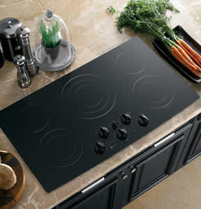 GE PP972BMBB Profile Built-In CleanDesign Cooktop