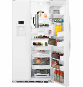 GE PSCF5TGXWW Profile Side-By-Side Refrigerator