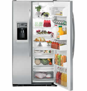 GE PSCS3RGXSS Profile Side-By-Side Refrigerator