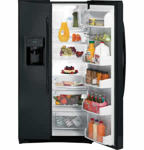 GE PSHF6RGXBB Profile Side-By-Side Refrigerator