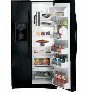 GE PSHF6TGXBB Profile Side-By-Side Refrigerator