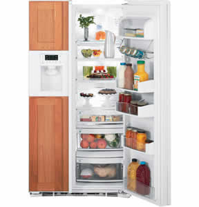 GE PSIC3RGXWV Profile Side-By-Side Refrigerator