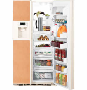 GE PSIC5RGXCV Profile Side-By-Side Refrigerator