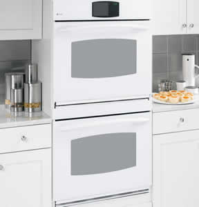 GE PT960WMWW Profile Built-In Double Convection Wall Oven