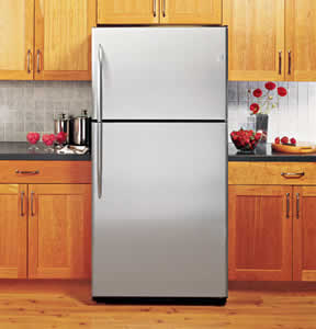 GE PTS25SHSSS Profile Stainless Top-Freezer Refrigerator