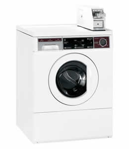 GE WCCH404HWW Commercial Frontload Washer