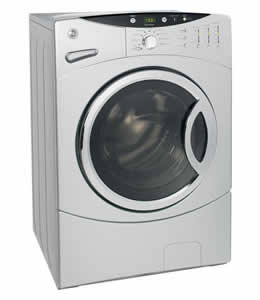 GE WCVH6800JMS King-Size Capacity Frontload Washer