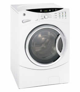 GE WCVH6800JWW King-Size Capacity Frontload Washer