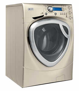 GE WPDH8900JMG Profile Colossal Capacity Frontload Washer