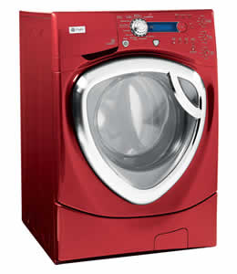 GE WPDH8900JMV Profile Colossal Capacity Frontload Washer