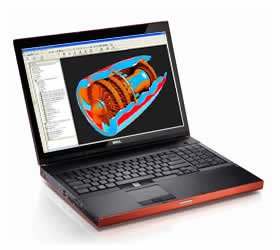 Dell Precision M6400 Covet Mobile Workstation Notebook