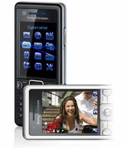 Sony Ericsson C510a Cell Phone