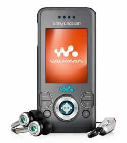 Sony Ericsson W580i Cell Phone
