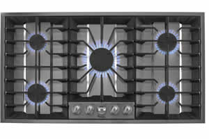 Whirlpool GLS3665RS Gas Cooktop